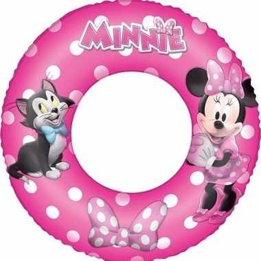 Opblaas zwemband minnie mouse