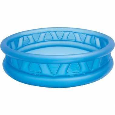Opblaasbaar blauw zwembad 188 cm