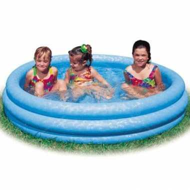 Opblaasbaar kinderzwembad intex