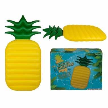 Opblaasbaar matras ananas 165 cm