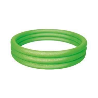 Opblaasbaar mini zwembad groen 152cm