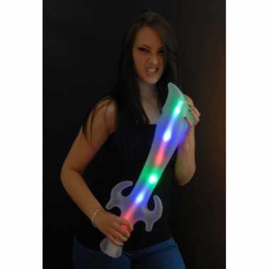 Opblaasbaar speelgoed led zwaard 65 cm
