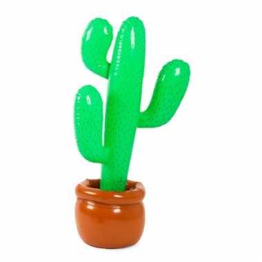 Opblaasbare cactus in pot 85 cm