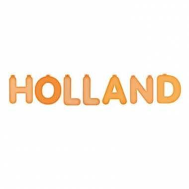 Opblaasbare holland letters