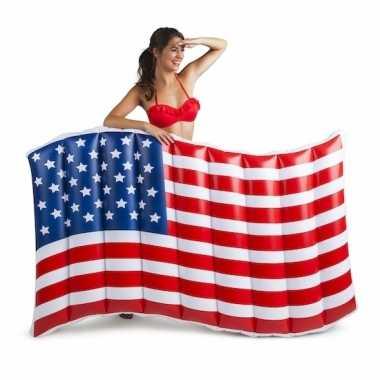 Opblaasbare usa vlaggen 150 cm