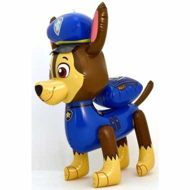 Opblaasfiguren paw patrol chase 58 cm