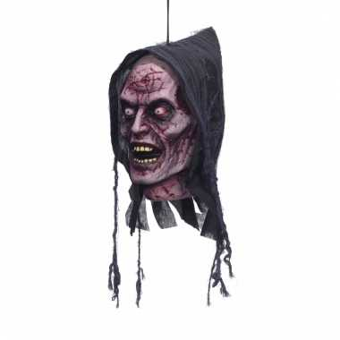 Opgehangen geesten hoofd decoratie