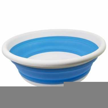Opvouwbare afwasteil blauw