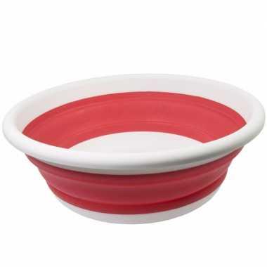 Opvouwbare afwasteil rood