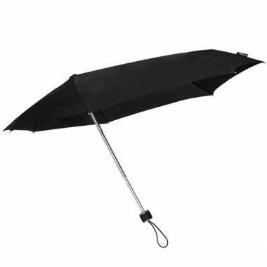 Opvouwbare storm paraplu zwart 100 cm