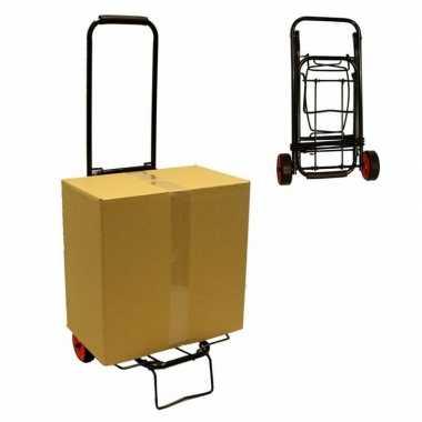 Opvouwbare trolley steekwagentje tot 25 kg