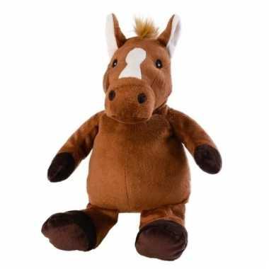 Opwarmbare knuffel paard