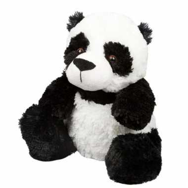 Opwarmbare knuffel panda