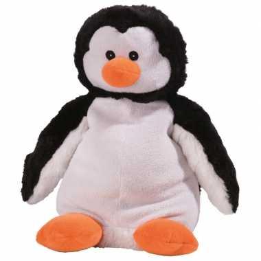Opwarmbare knuffel pinguin
