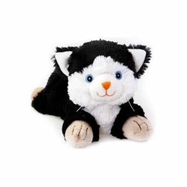Opwarmbare knuffel poes 18 cm
