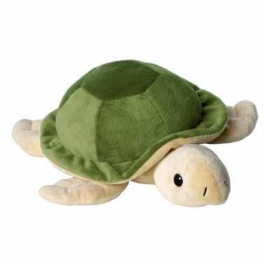 Opwarmbare knuffel schildpad