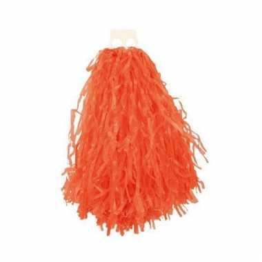 Oranje cheerball 28 cm