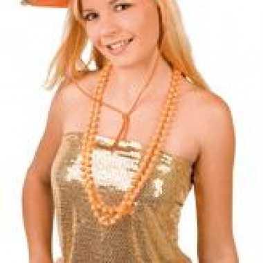 Oranje cowboyhoed sheriff