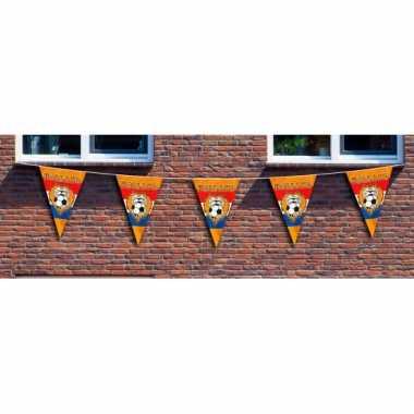 Oranje ek vlaggenlijn xxl 10 meter