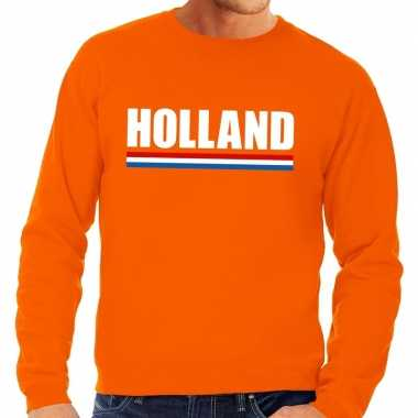Oranje holland supporter trui heren