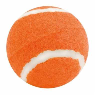 Oranje honden speelbal