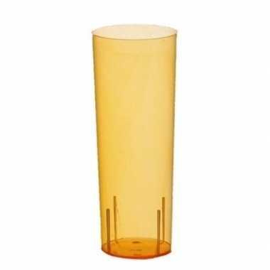 Oranje longdrink glazen