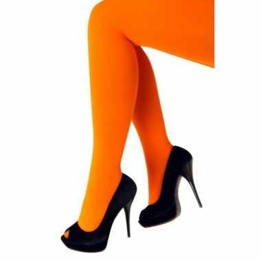 Oranje panty 60 denier