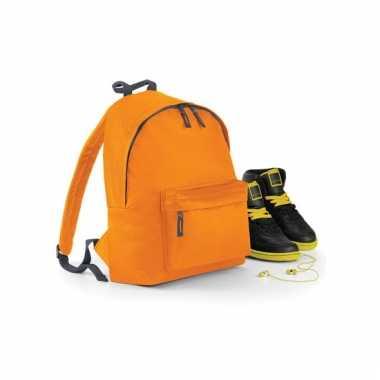 Oranje rugzak voor kinderen