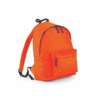 Oranje rugzak