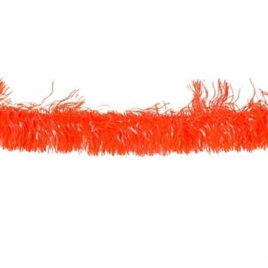 Oranje slinger 4 meter