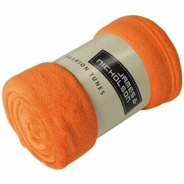 Oranje speelkleed voor kinderen