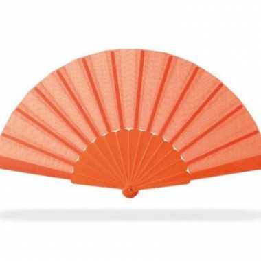 Oranje supporters waaier