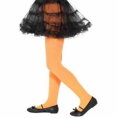 Oranje verkleedlegging voor kinderen 6-12 jaar