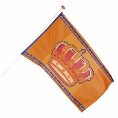 Oranje vlag 90 x 150 cm