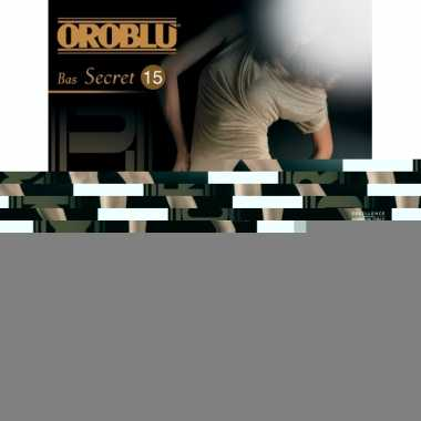 Oroblu bas secret jarretel kousen off white