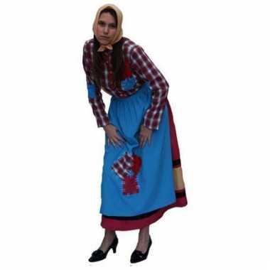 Oude heks kostuum voor dames