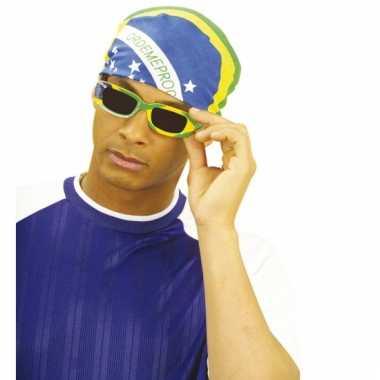 Ovale zonnebril brazilie