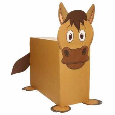 Paard suprise knutselen diy pakket