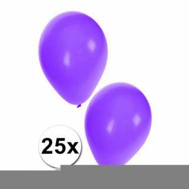 Paarse ballonnetjes 25x