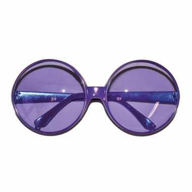 Paarse party bril