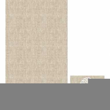 Paasdecoratie set servetten en tafelkleed/tafellaken grijs/beige koni
