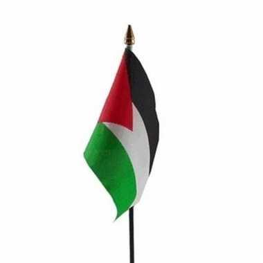 Palestina vlaggetje polyester