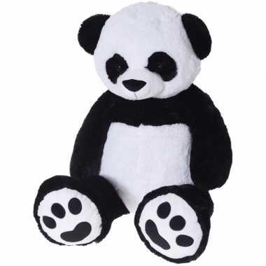 Panda knuffelbeer xl 100 cm