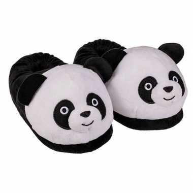 Panda sloffen voor dames