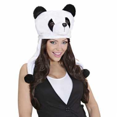 Pandaberen muts voor volwassenen