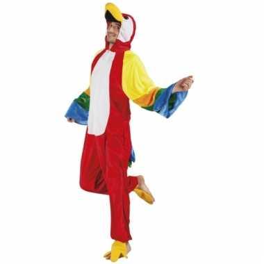 Papegaai onesie dierenpak 195 cm