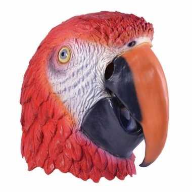 Papegaaien maskers voor volwassenen