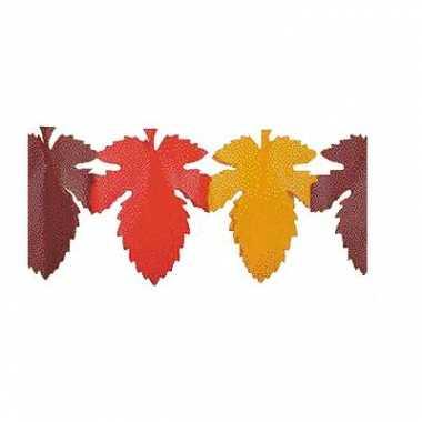 Papieren herfstbladeren slinger