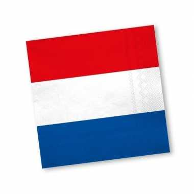 Papieren holland servetten 20 st