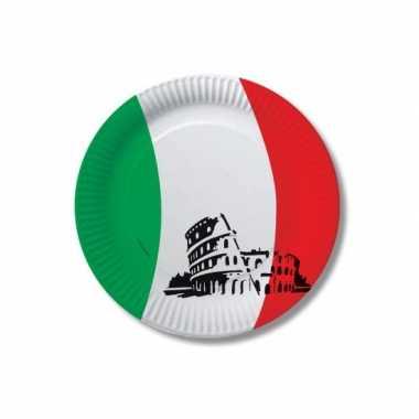 Papieren italie bordjes 10 st